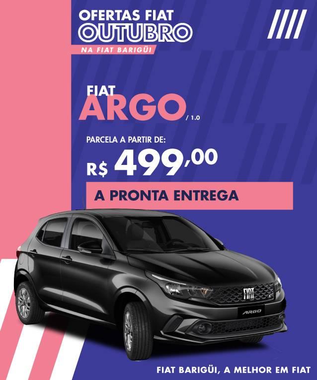 OFERTAS OUTUBRO – ARGO